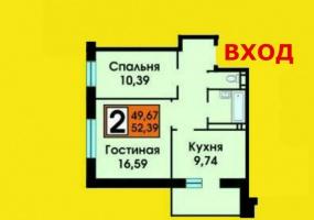 Квартиры Первичный рынок,2122