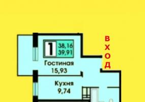 Квартиры Первичный рынок,2124