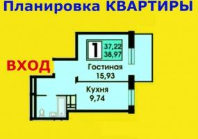 Квартиры Первичный рынок,2125