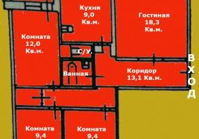 Квартиры Вторичный рынок,1355