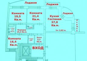 Квартиры Вторичный рынок,1526